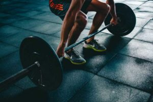 power clean for achieving athletic body in 30 days
